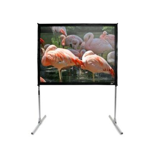 "Elite Screens QuickStand Series CineWhite 100"" Portable Projection Screen"