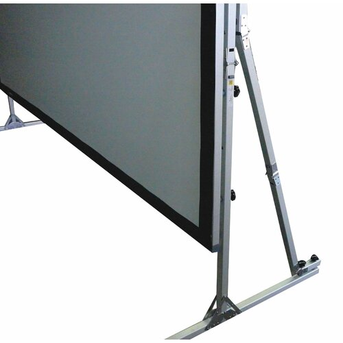 "Elite Screens QuickStand Series Cine White 250"" Diagonal Projection Screen"