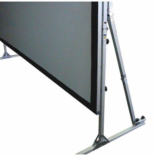 "Elite Screens QuickStand Series Cine White 250"" Diagonal Portable Projection Screen"