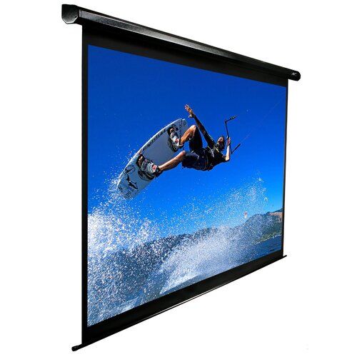 """Elite Screens VMAX2 AcousticPro MaxWhite 110"""" Electric Projection Screen"""