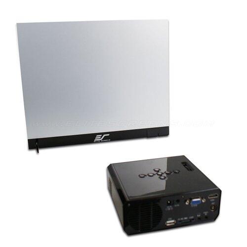 "Elite Screens Versa White 18"" Diagonal Portable Projection Screen"