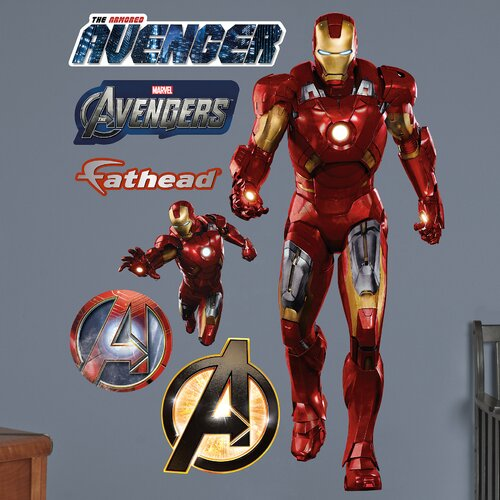 Super Heroes Iron Man Avengers Wall Decal