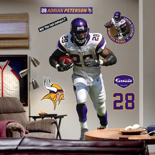 Fathead NFL Wall Decal