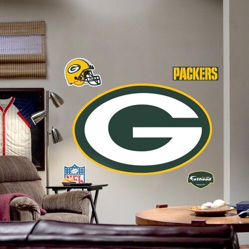 Fathead NFL Logo Wall Decal
