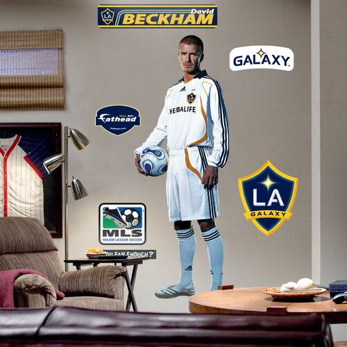 MLS David Beckham Studio Wall Decal