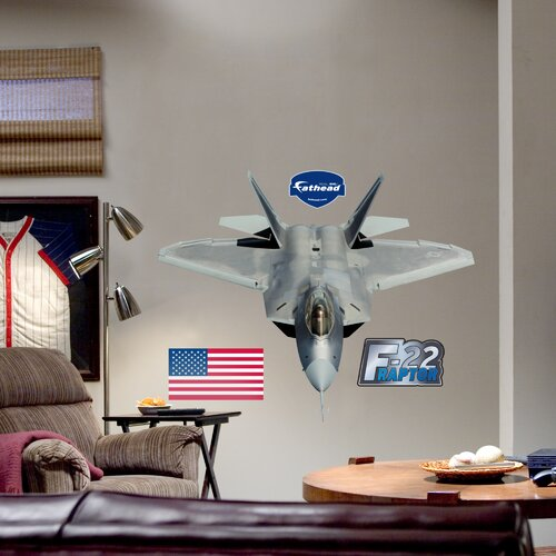 F-22 Raptor Wall Decal