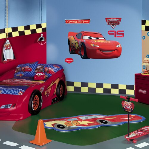 Fathead Lightning McQueen Wall Decal