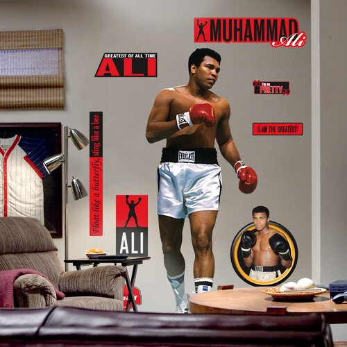Muhammad Ali Wall Decal