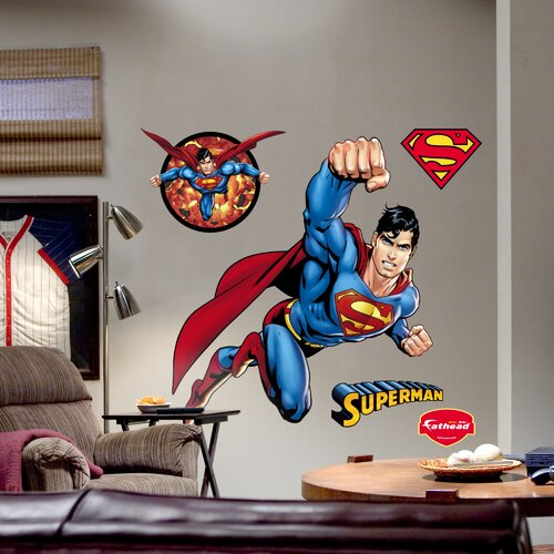 Fathead Superman Wall Decal