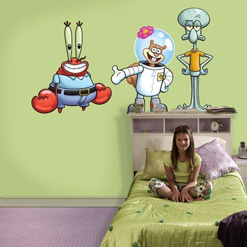 Nickelodeon SpongeBob SquarePants Friends Wall Decal