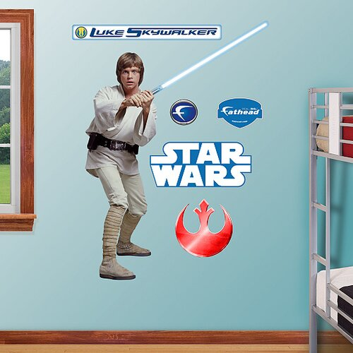 Fathead Luke Skywalker Wall Decal