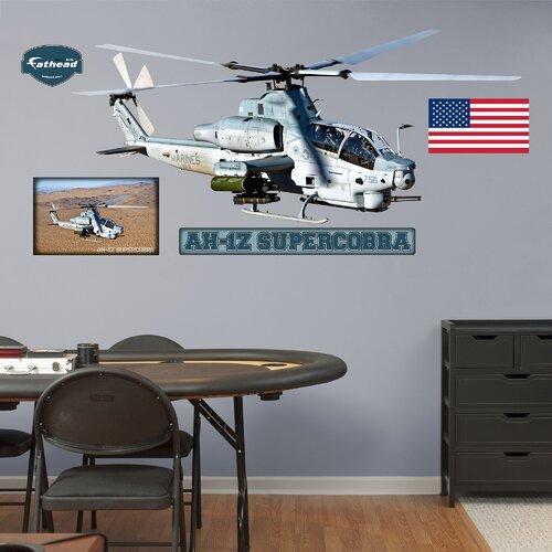 Military AH-1 Super Cobra Wall Decal
