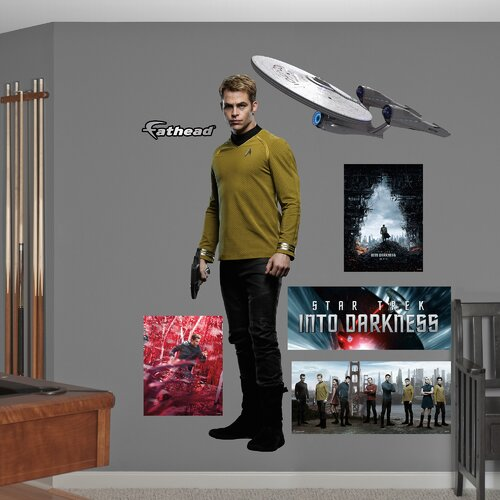 Fathead Star Trek Into Darkness James T. Kirk Wall Decal