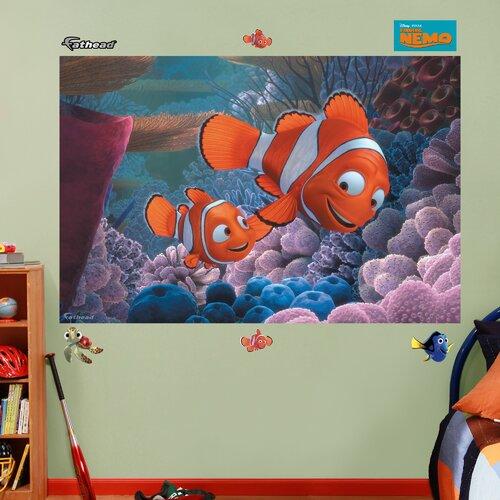 finding nemo wall murals - photo #1