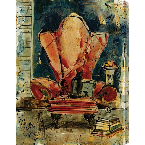 Chunkie's Chair by Olivia Maxweller Painting Print Canvas
