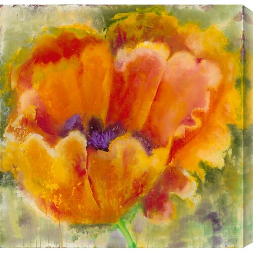 Blossom by Katherine Houston Wall Art in Green