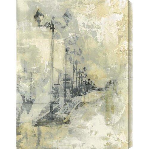 Lantern Way by Justin Garcia Painting Print Canvas