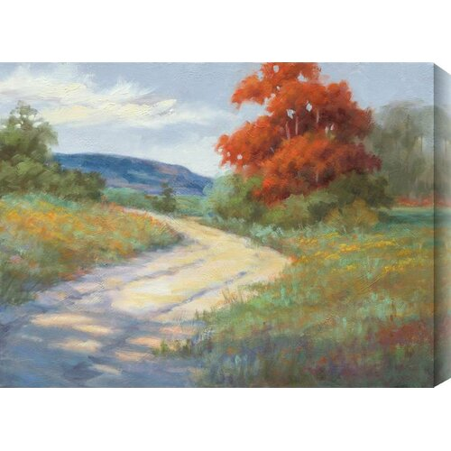 Whispers of Fall II by Rose Hohenberger Painting Print Canvas