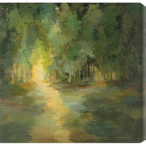 Forest Light by Caroline Ashton Painting Print Canvas