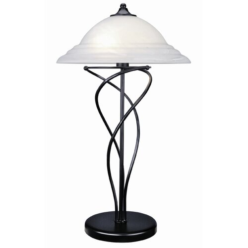 "Lite Source Majesty 28"" H  Table Lamp with Bell Shade"