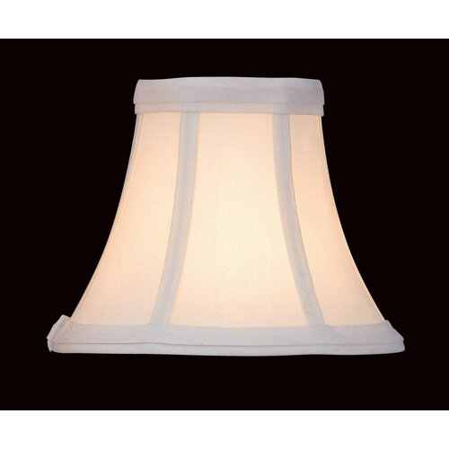"Lite Source 7"" Fabric Candelabra Bell Shade"