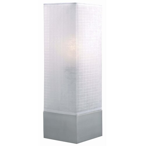 "Lite Source Soho Square 20"" H Table Lamp with Drum Shade"
