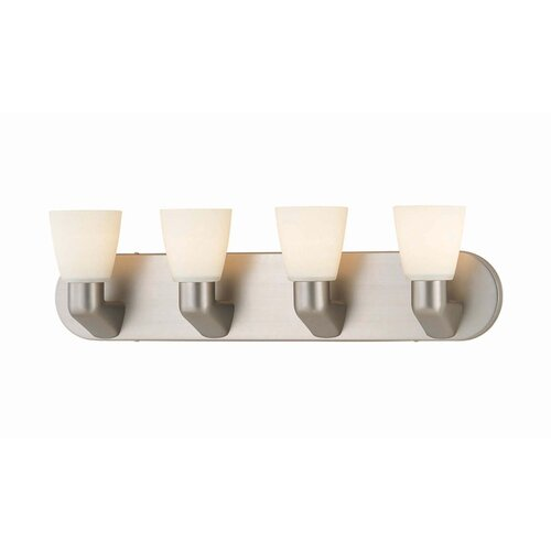 Lite Source Contemporary 4 Light Vanity Light