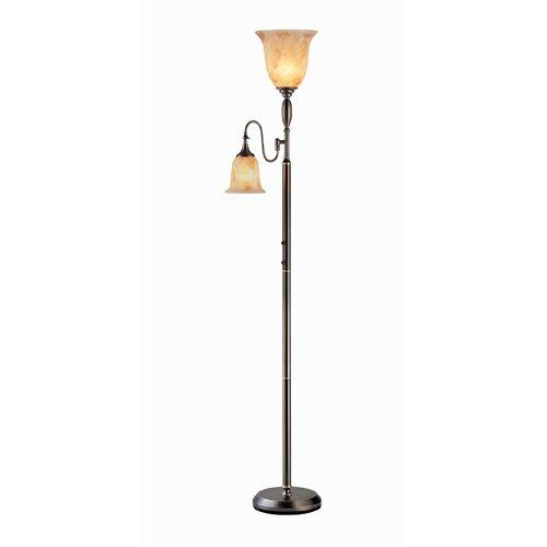 Industrial floor lamps wayfair for Wayfair industrial lamp