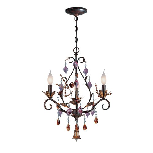 Lite Source Bellva 3 Light Chandelier