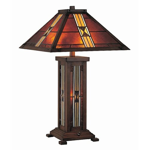 "Lite Source Farah 25.5"" H Table Lamp with Empire Shade"