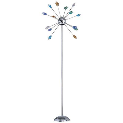 Lite Source 14 Light Floor Lamp