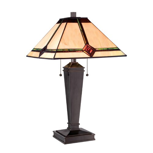 "Lite Source Karysa 17"" H Table Lamp with Empire Shade"