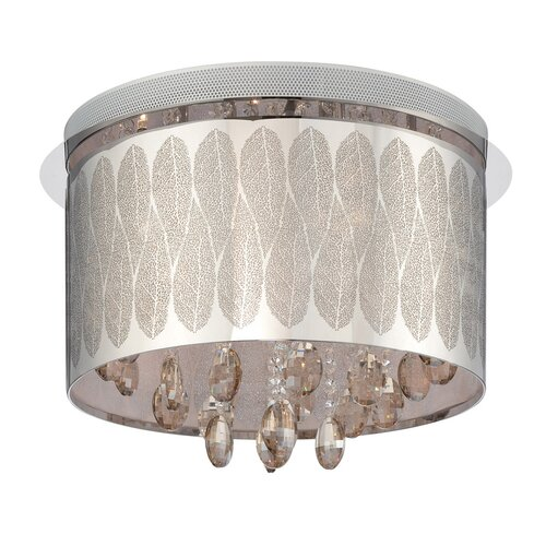 Lite Source Giustina 9 Light Flush Mount
