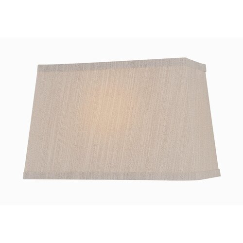 "Lite Source 16"" Fabric Rectangular Shade"