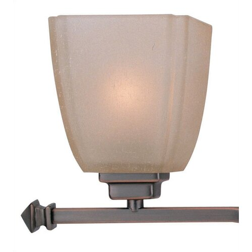 Lite Source 3 Light Champagne Vanity Light