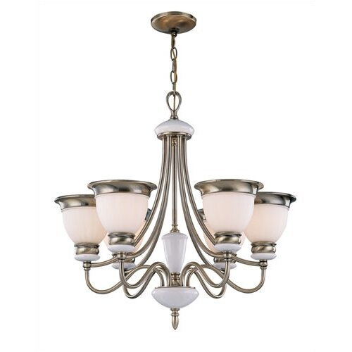 Carter 6 Light Chandelier