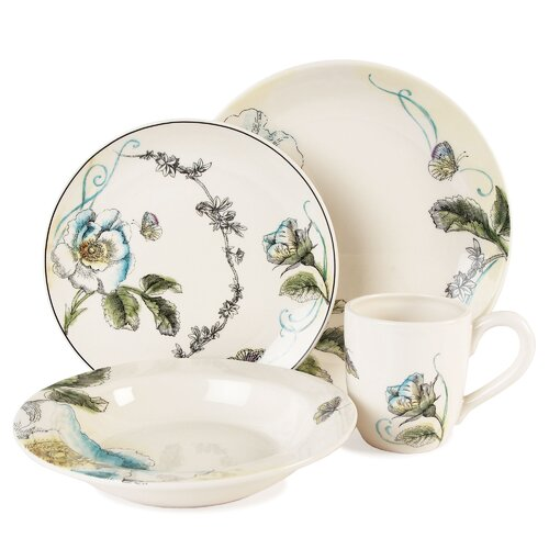 Rose 4 Piece Place Setting