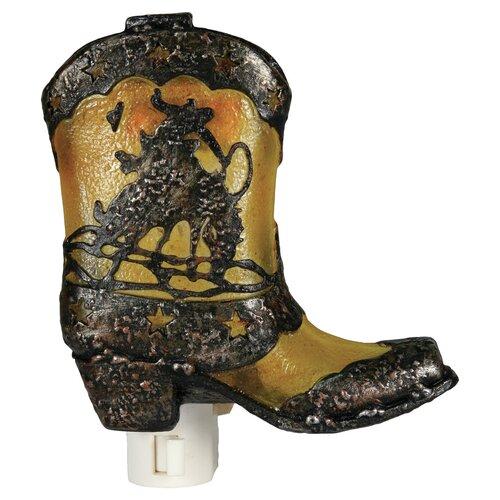 Cowboy Boot Night Light