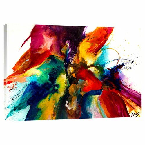 Big Canvas Art Modern Watercolor Abstract Ink Splash Big: Great Big Canvas Flourish III By Jonas Gerard Gallery