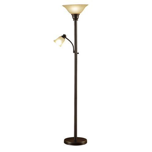 andover mills floor lamp with reading light reviews wayfair. Black Bedroom Furniture Sets. Home Design Ideas