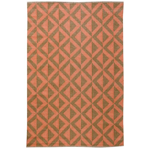 Medival Cacao/Rust Outdoor Rug
