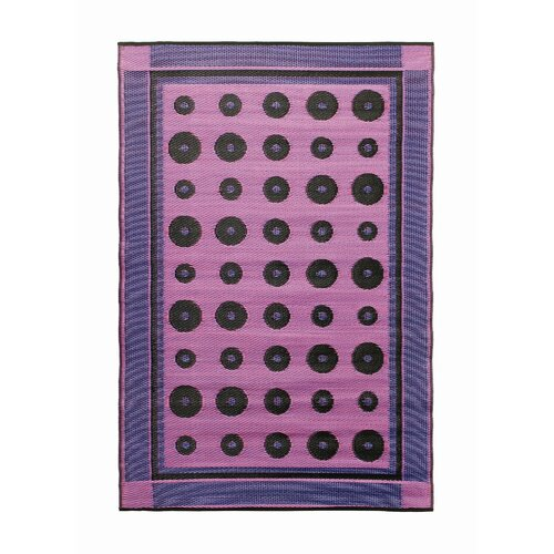 Dots Berry Outdoor Rug
