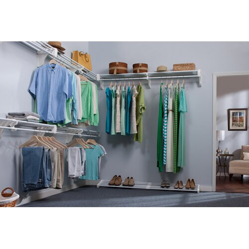 Expandable Walk Boards : Ez shelf from tube technology expandable walk in closet