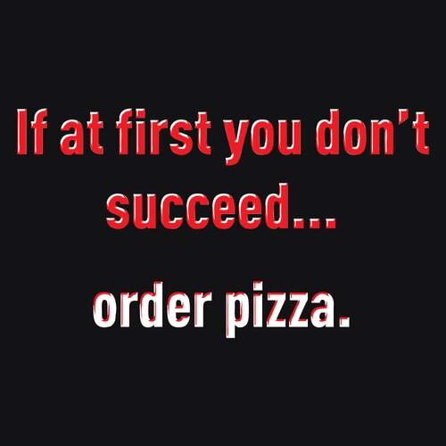 Attitude Aprons by L.A. Imprints Order Pizza Apron