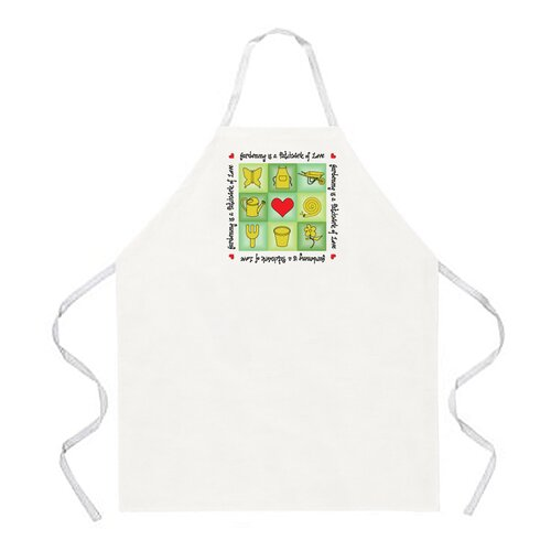 Attitude Aprons by L.A. Imprints Gardening Patchwork Apron