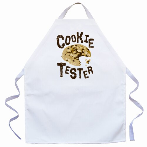 Attitude Aprons by L.A. Imprints Cookie Tester Apron in Natural