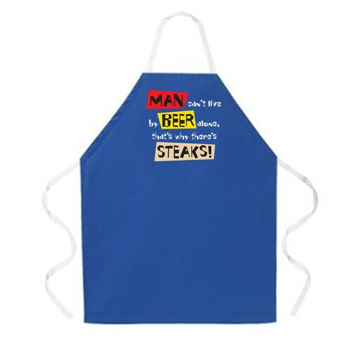 Attitude Aprons by L.A. Imprints Live By Beer Alone Apron