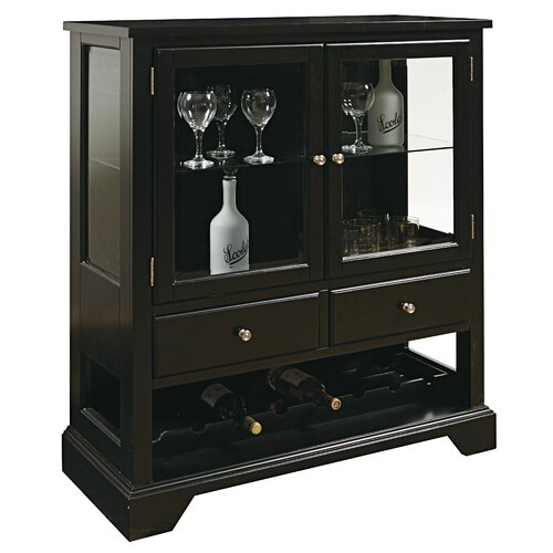 Wine 8 Bottle Cabinet
