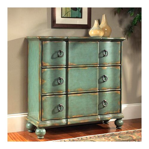 Rustic Chic 3 Drawer Hall Chest