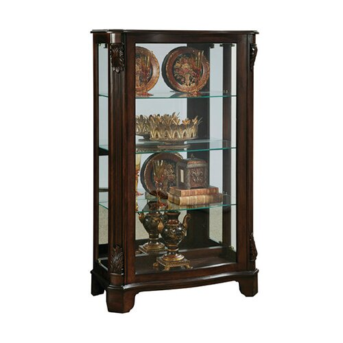 pulaski furniture mantel curio cabinet